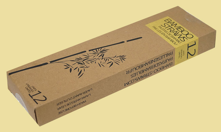 We print our packaging on recycled paper!